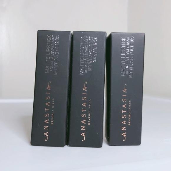 Anastasia Beverly Hills Other - 3 Anastasia Beverly Hills Lipsticks